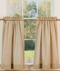 Thermal Cafe Curtains Colebrook Tier Curtains Country Curtains