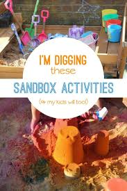 spark create imagine learning activity table sandbox activities that kids dig hands on as we grow