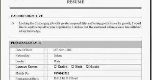Example Of Resume Headline by Sample Resume For Mba Finance Experience