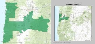 map of oregon i 5 oregon s 5th congressional district