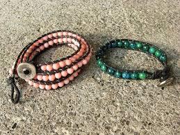 diy beaded cord bracelet images Diy beaded wrap bracelet jpg