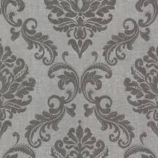 the 25 best grey damask wallpaper ideas on pinterest black and