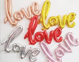 love balloons etsy