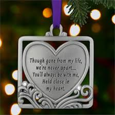 2014 memorial ornament held in my