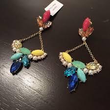 Colorful Chandelier Earrings 95 Off Lulu Frost Jewelry Multi Colored Chandelier Earrings