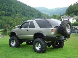 black out rims and sun strip zr2 blazer ideas pinterest s10