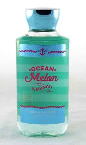ocean melon mango shower gel archway variety ocean melon and mango shower gel bath and body works 10oz