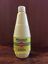 Salep Rivanol topical 4 盪 chemical solution larutan kimia 盪 rivanol molex 300ml