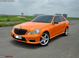 orange mercedes pics tastefully modified cars in india page 12 team bhp