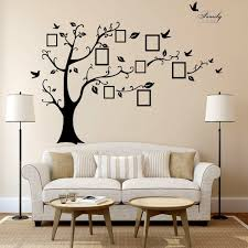 World Map Wall Sticker by 2 5m Removable Memory Tree Picture Frames Wallpaper Photo Wall