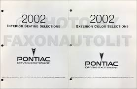 2002 pontiac bonneville repair shop manual original 2 volume set