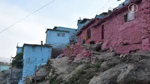 Beautiful Mountain Houses by Beautiful Kabul Painted Mountain Houses Youtube