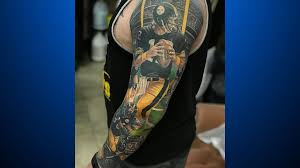 Pennsylvania Travel Tattoo images Ultimate team pride steelers fan 39 s tattoo 5 years in the making jpg
