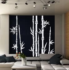 Living Room Decor Etsy Bamboo Tree Wall Decal Living Room Wall Decal Tree Wall