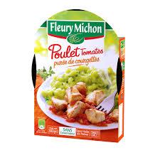 plat cuisiné fleury michon fleury michon plats cuisinés