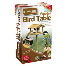 Bird Table L Premium Bird Table With Built In Feeder 29 99 Garden4less Uk Shop
