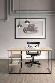 Polished Oak Desk
