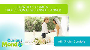 how to become a wedding planner how to become a professional wedding planner course with shalyn