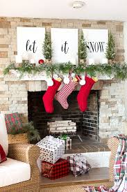 pictures of christmas decorations in homes 18 christmas mantel decorating ideas from homes around america take