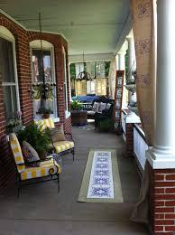 vintage transformation front porch design tuscan blue design