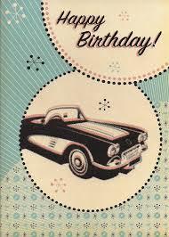 corvette birthday novelty cards atomic cards boomerang cards rockin birthday