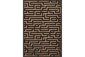 93x128 rug maze grey living spaces