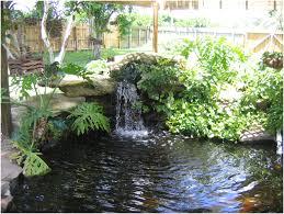 backyards gorgeous diy backyard waterfall modern backyard diy