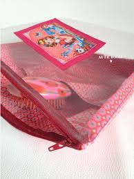 trousse de toilette girly trousse de toilette au fil rouge