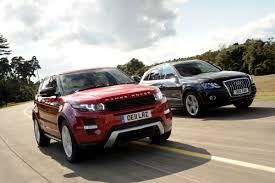 lexus suv vs audi q5 range rover evoque sd4 dynamic 5dr vs audi q5 tdi s line range