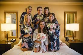 bridesmaid satin robes set of 6 bridesmaid robes silk robe bridesmaids gift satin