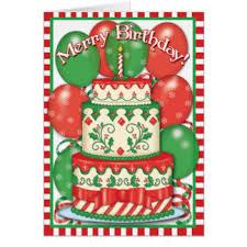 Merry Birthday Card Merry Birthday Greeting Cards Zazzle