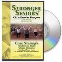 Chair Exercises For Seniors Core Strength Chair Exercise Dvd Stronger Seniors Chair Exercise