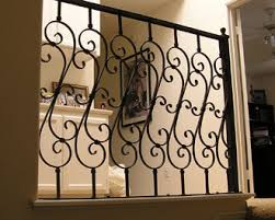 ornamental iron balcony stair railings guard rails
