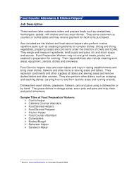 Sample Resume For Kitchen Helper Resume Employment Examples Whitehouse Common Primary Moodle