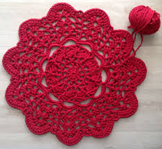 Crochet Tshirt Rug Pattern 1214 Best Crochet Baskets And Rugs Images On Pinterest Crochet