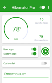 hibernate apk hibernator pro hibernate running apps save battery v2 2 6