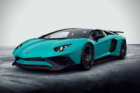 car lamborghini 2017 2017 lamborghini aventador lp750 4 superveloce roadster luxury car