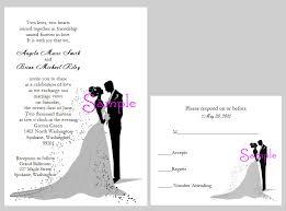 to groom wedding card new wedding invitation with and groom wedding invitation