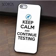Les Accessoires Les Plus Geeks Et Scozos Keep Calm Continue Testing Portal Gamer For Iphone