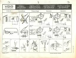 vdo gauges wiring diagrams and boat tach diagram e z go golf cart