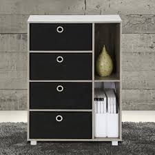 Bedroom Furniture Chest Of Drawers Beech Furinno Espresso And Brown Storage Chest 11159ex Br The Home Depot