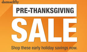 pre thanksgiving sale at damselfly damselfly