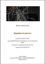 sermes cuisine exposition de peinture corinne letrange strasbourg 67100
