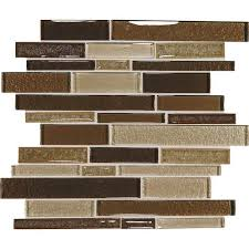 Daltile Crystal Shores Copper Coast Glass Mosaic Tile Kitchen - Daltile backsplash
