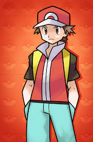 how to draw pokemon trainer red step by step pokemon characters
