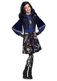 Kids Halloween Costumes Girls Descendants Isle Lost Evie Disney Girls Costume Girls