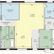 plan maison plain pied gratuit 4 chambres plan de maison plain pied 3 chambres 120m2