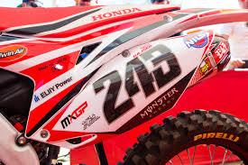 motocross bike numbers tim gajser u0027s 2016 gariboldi hrc honda crf450rw vital mx pit bits