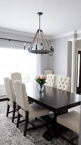 Dining Chairs White Wood Best 25 White Dining Chairs Ideas On Pinterest Fabric Dining