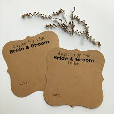 advice for the and groom cards advice cards for the groom wedding advice cards words of